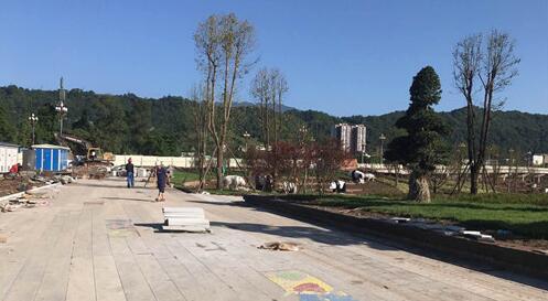 熊猫绿岛公园: 建设接近尾声 迎文旅节开幕