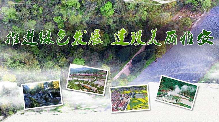 推进绿色发展 建设美丽雅安